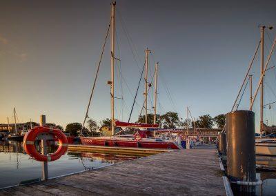 Marina jachtowa w Darłówku
