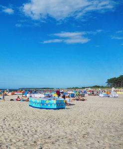 szeroka plaża Darłówko