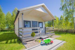 Nowe, przestronne, domki letniskowe z dwiema sypialniami