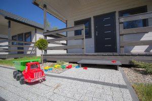 Nowe domki nad morzem dla rodziny