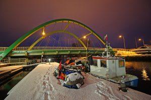 most podwieszany darłowo