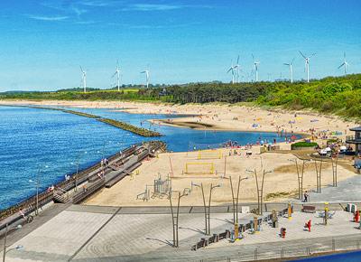plaża Darłówko