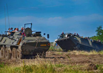 Zlot Historycznych pojazdów Wojskowych w Darłówku