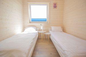 mniejsza sypialnia domki