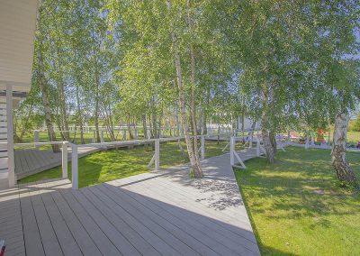 teren rekreacyjny w domkach w Darłówku